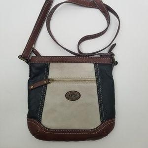 Born Cross Body bag Faux Leather Black purse